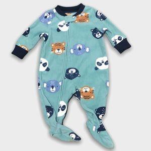 4/$20🥳 Carter's Fleece Animal Print Sleeper